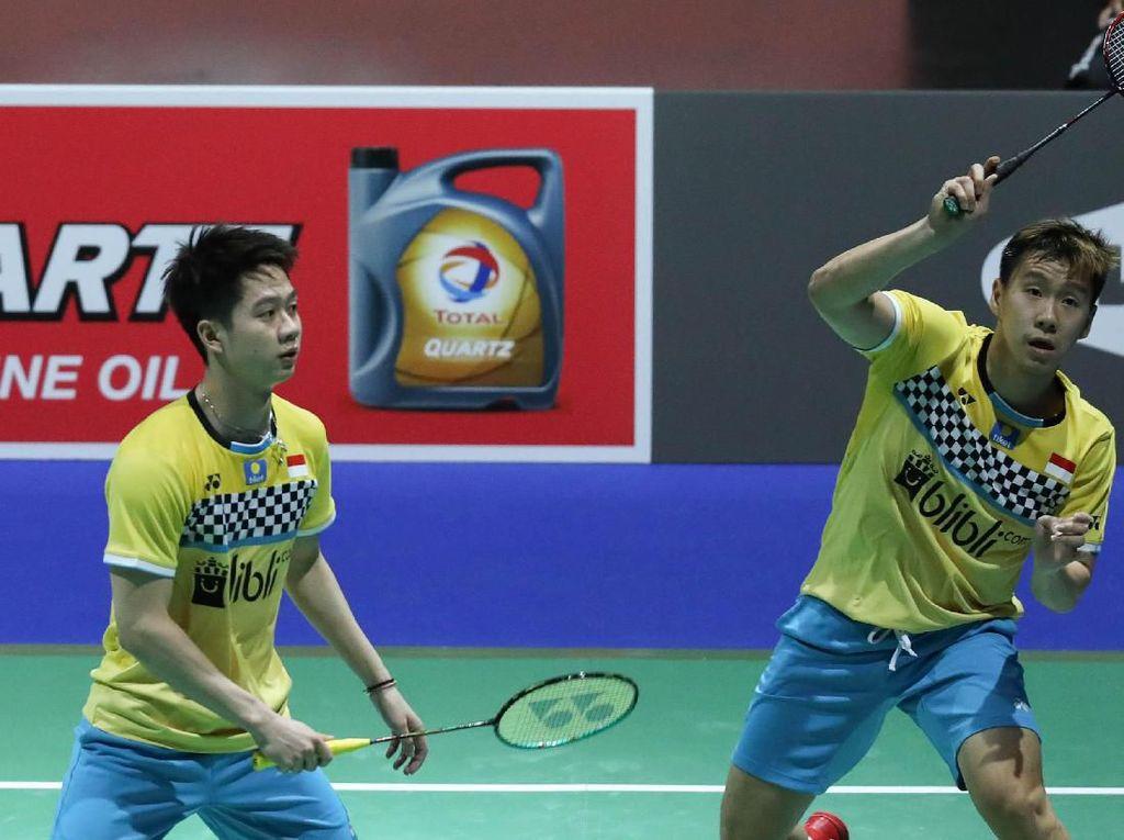 Singkirkan Fajar/Rian, Kevin/Marcus Jumpa Ahsan/Hendra di Final China Open