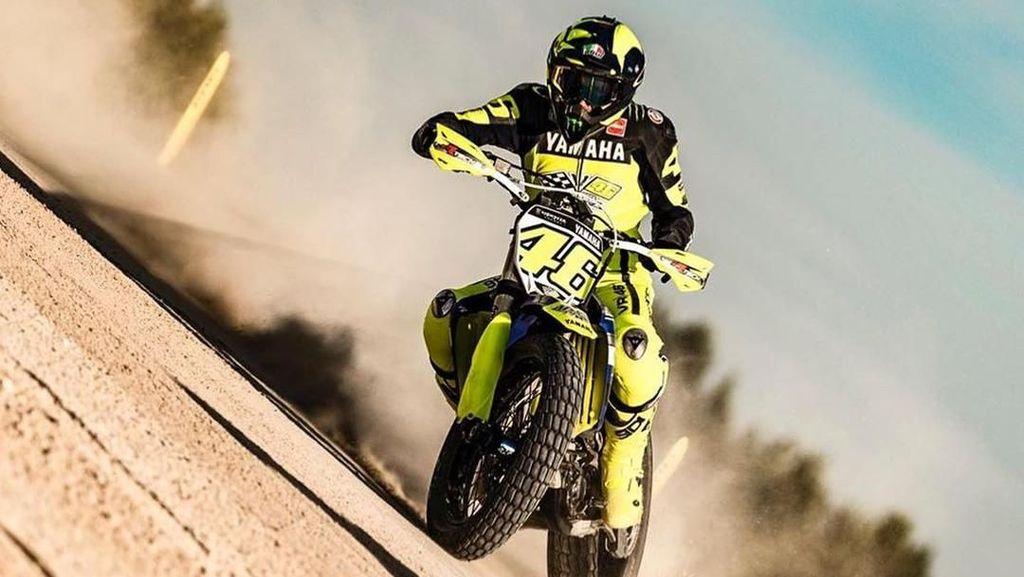 Mengintip Latihan Valentino Rossi Jelang MotoGP Inggris