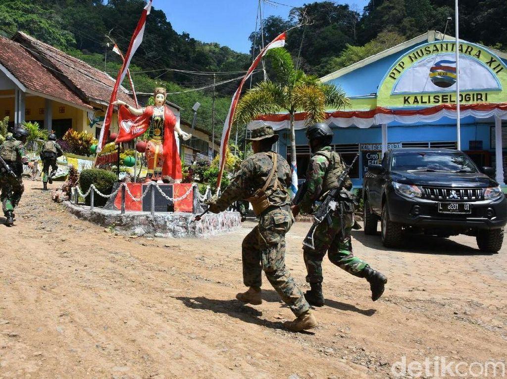 Marinir Indonesia dan AS Gelar Latihan Operasi Daerah Hutan Berpenduduk