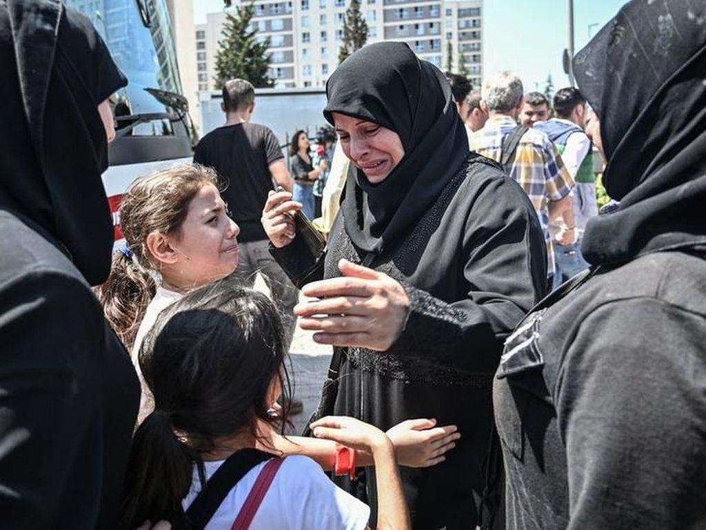 Ribuan Pengungsi Suriah Harus Segera Tinggalkan Istanbul, Ini Alasannya