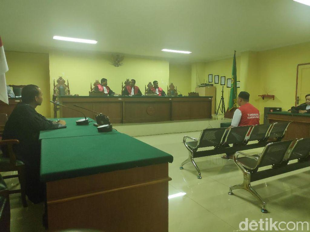 Pembunuh Taruna ATKP Makassar Divonis 10 Tahun Penjara