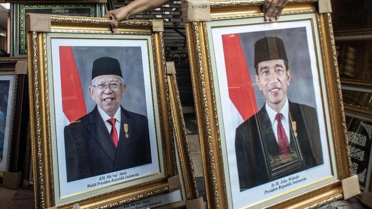 Perjalanan Jokowi-Maruf Hingga Hari Pelantikan Presiden-Wapres RI