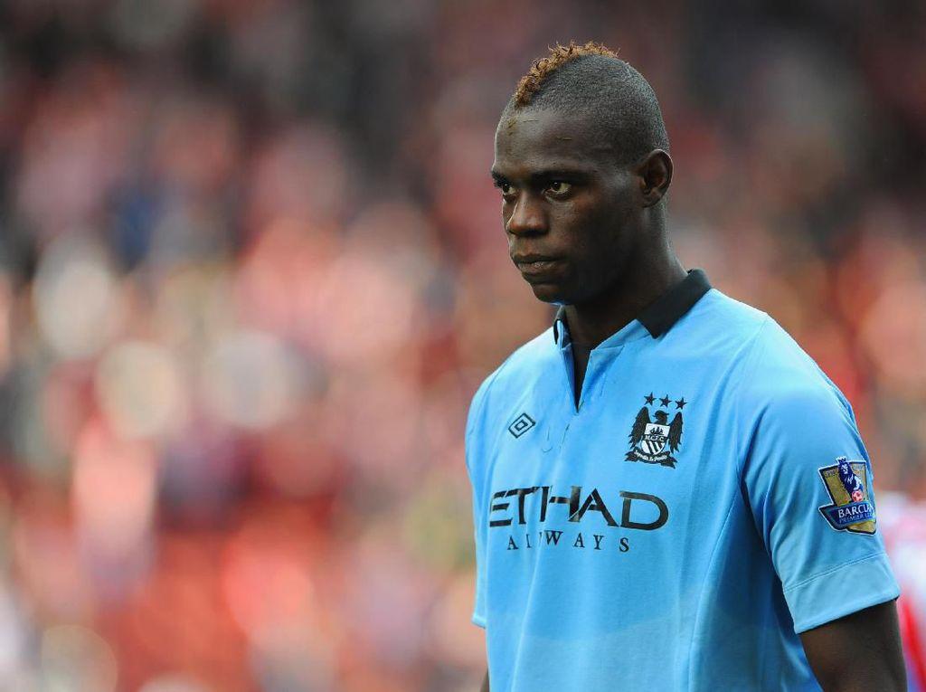 Balotelli Kembali ke Man City Bulan Depan