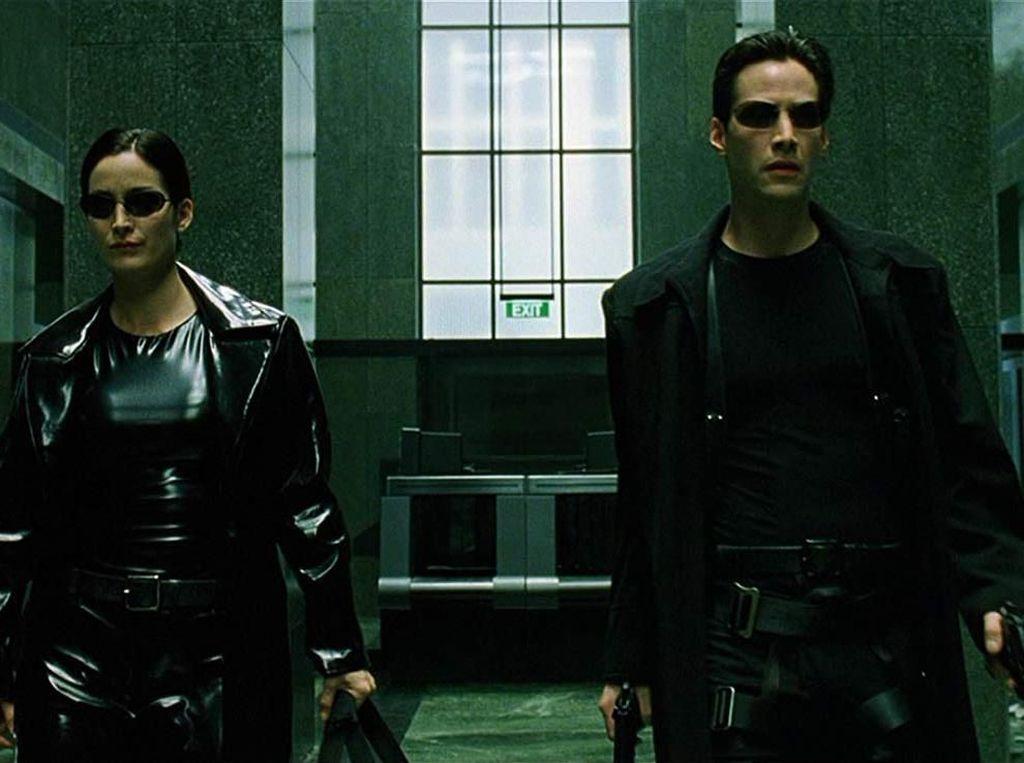 Heboh Rekaman Adegan Berbahaya di Matrix 4