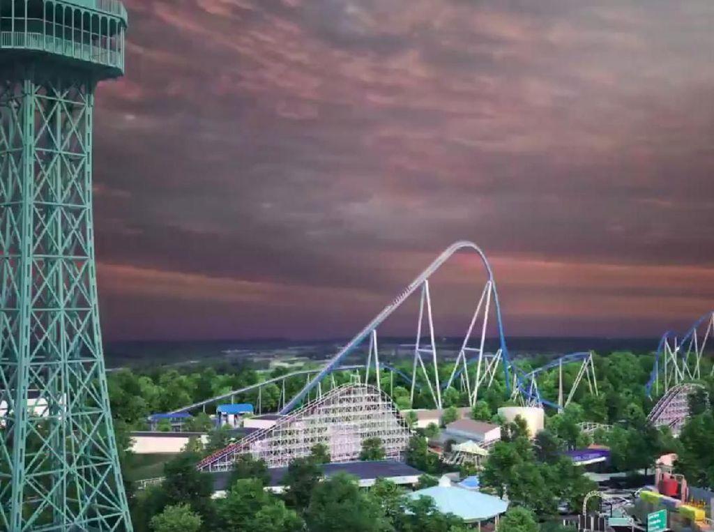 Perkenalkan, Ini Roller Coaster Setinggi 91 Meter!