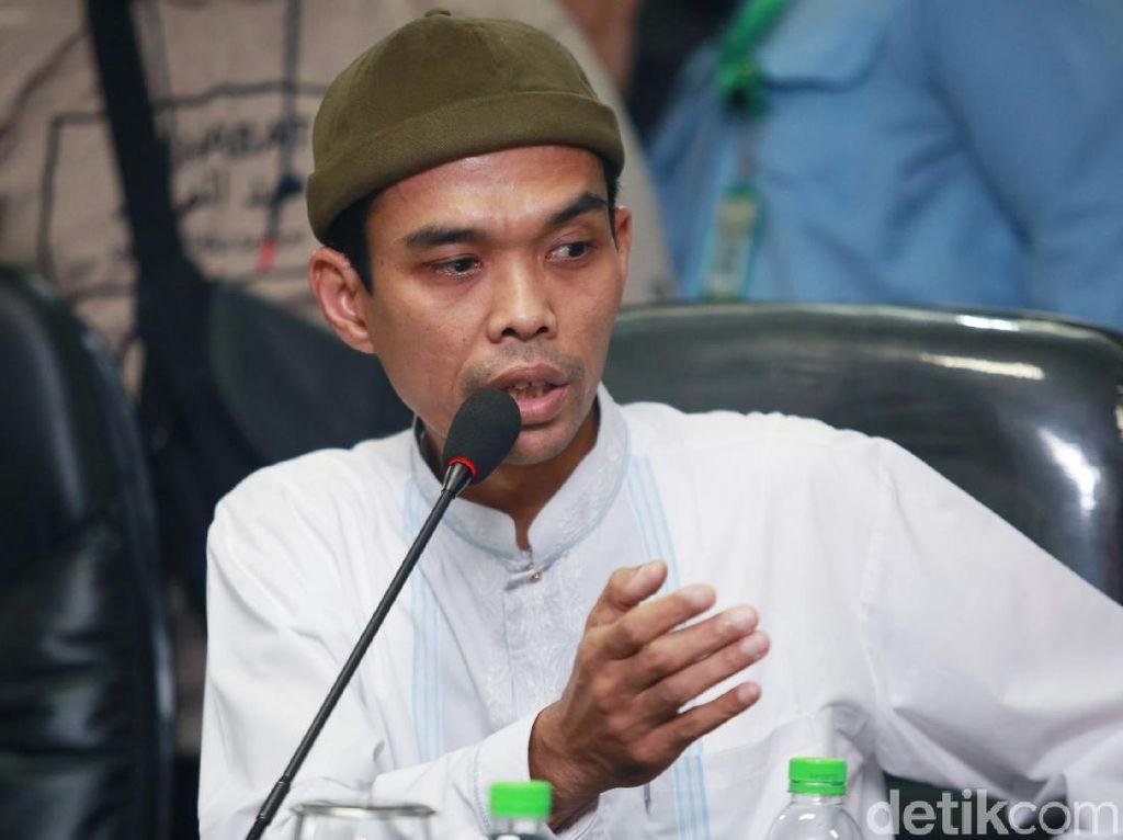 Ustaz Abdul Somad Bicara Orang Dihukum dari Jabatan karena Sambut HRS