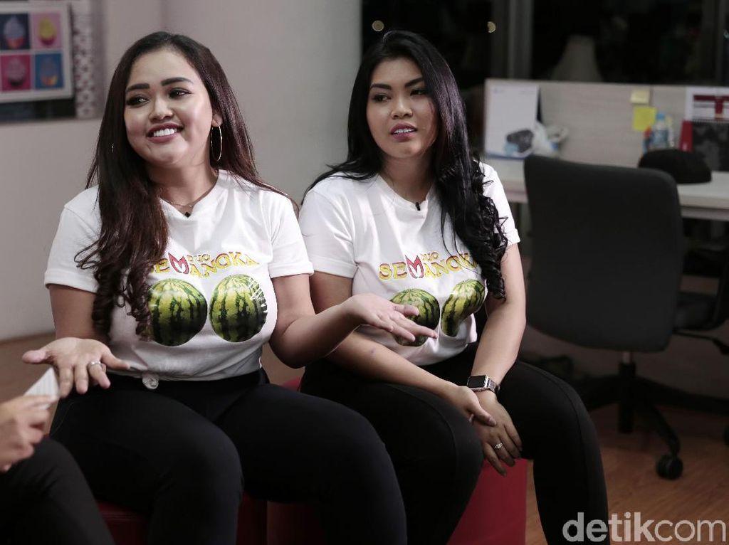 Duo Semangka Tak Takut Badan Melar Meski Doyan Gorengan, Ini Rahasianya