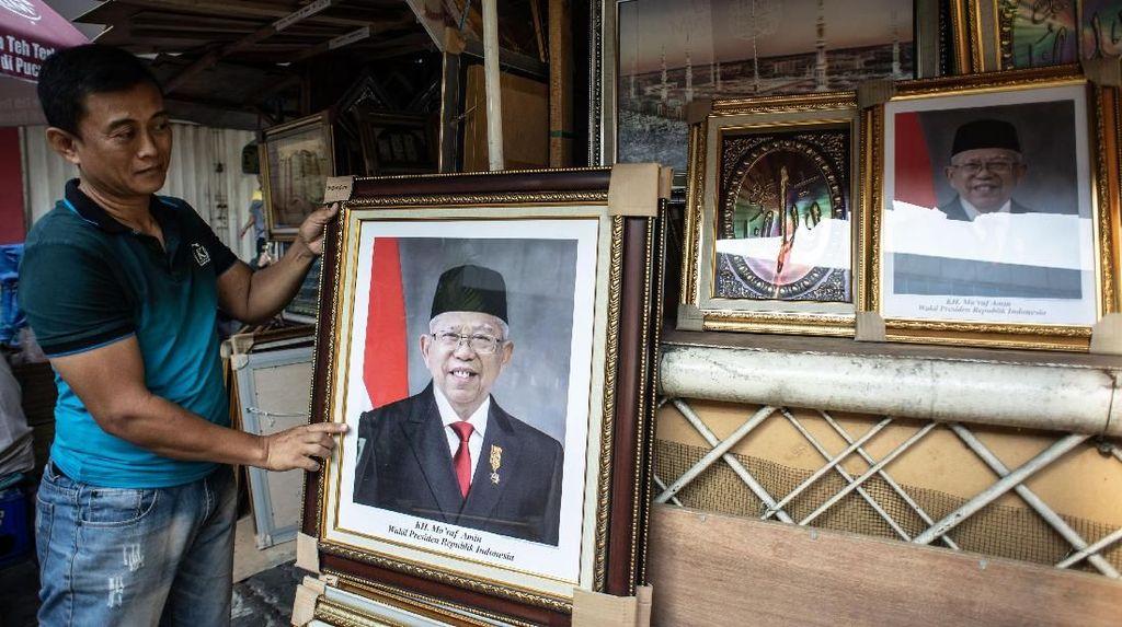 Foto Maruf Amin Wapres RI Mulai Dijual