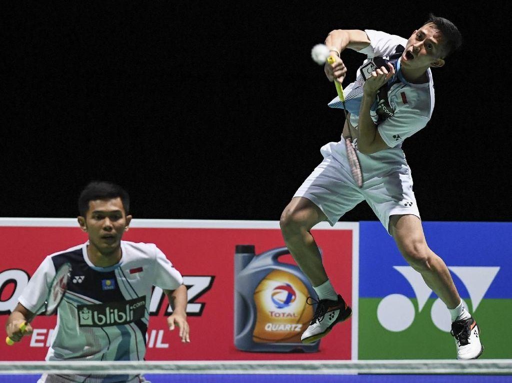 Singkirkan Kevin/Marcus, Fajar/Rian Melaju ke Semifinal Korea Open
