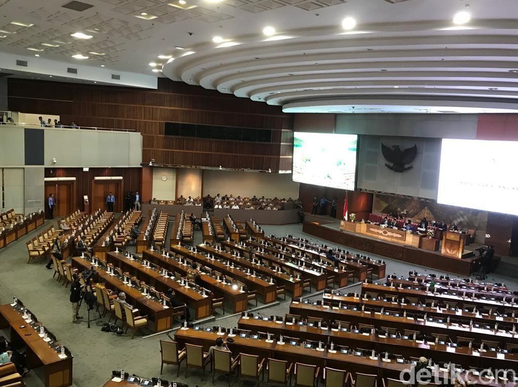 Rapat Paripurna RUU APBN 2020, 257 Anggota DPR Tak Hadir