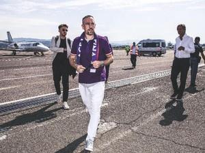 Franck Ribery Tak Akan Tinggalkan Fiorentina