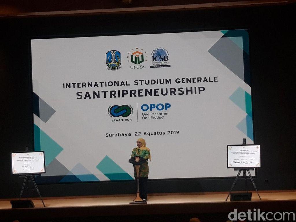Resmikan OPOP Training Center, Khofifah Sebut Mimpinya Terwujud