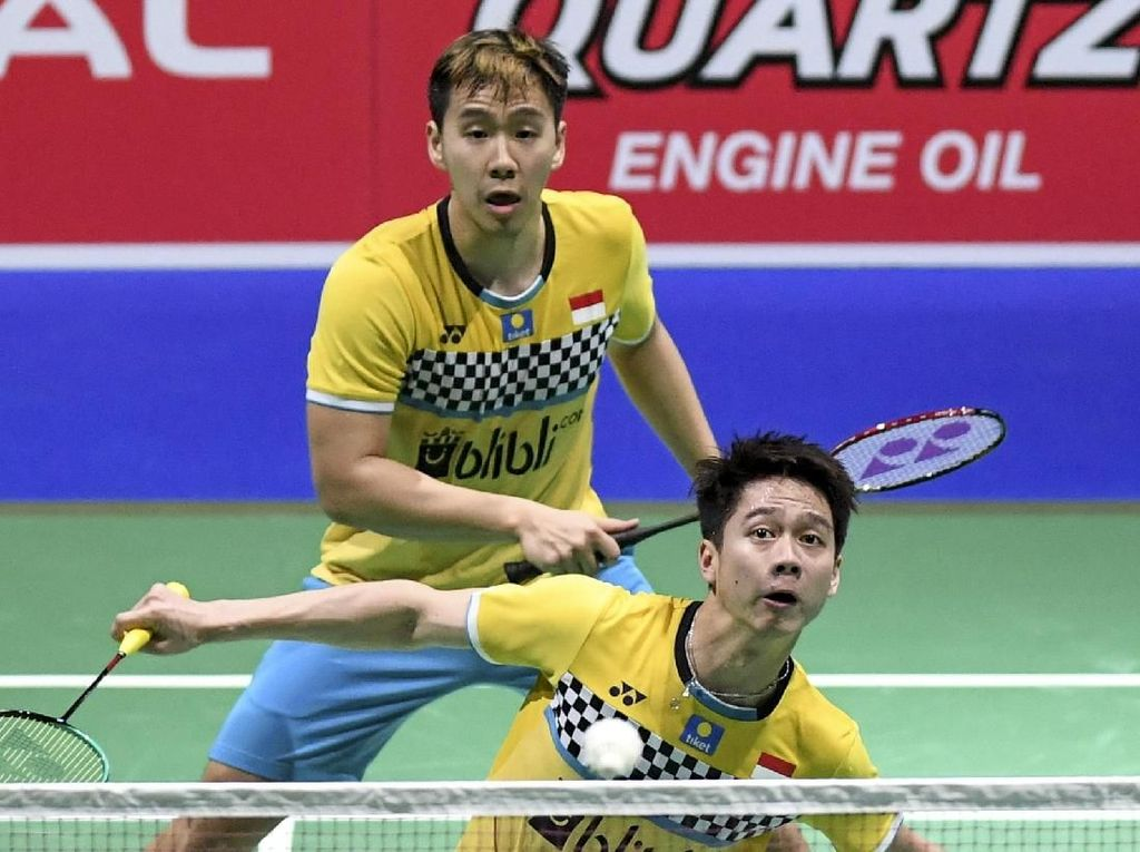 Lewat Rubber Game, Kevin/Marcus Lolos ke Perempatfinal Fuzhou China Open