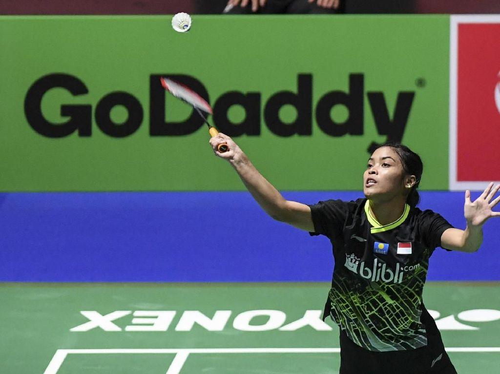 Gregoria Lewati Babak Pertama Fuzhou China Open, Fitriani Tersingkir