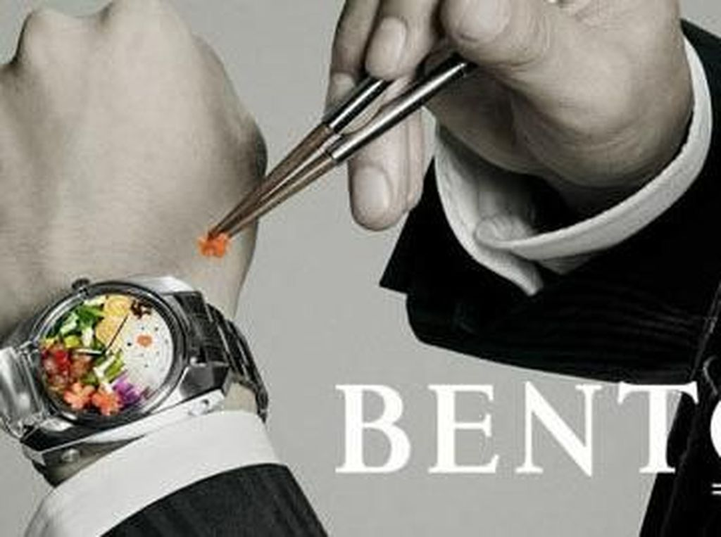 Wow! Jam Tangan Ini Bisa Jadi Bento Box Komplet