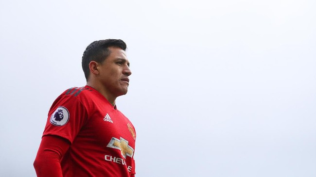 Alexis Sanchez saat di Manchester United. (Foto: Catherine Ivill/Getty Images)
