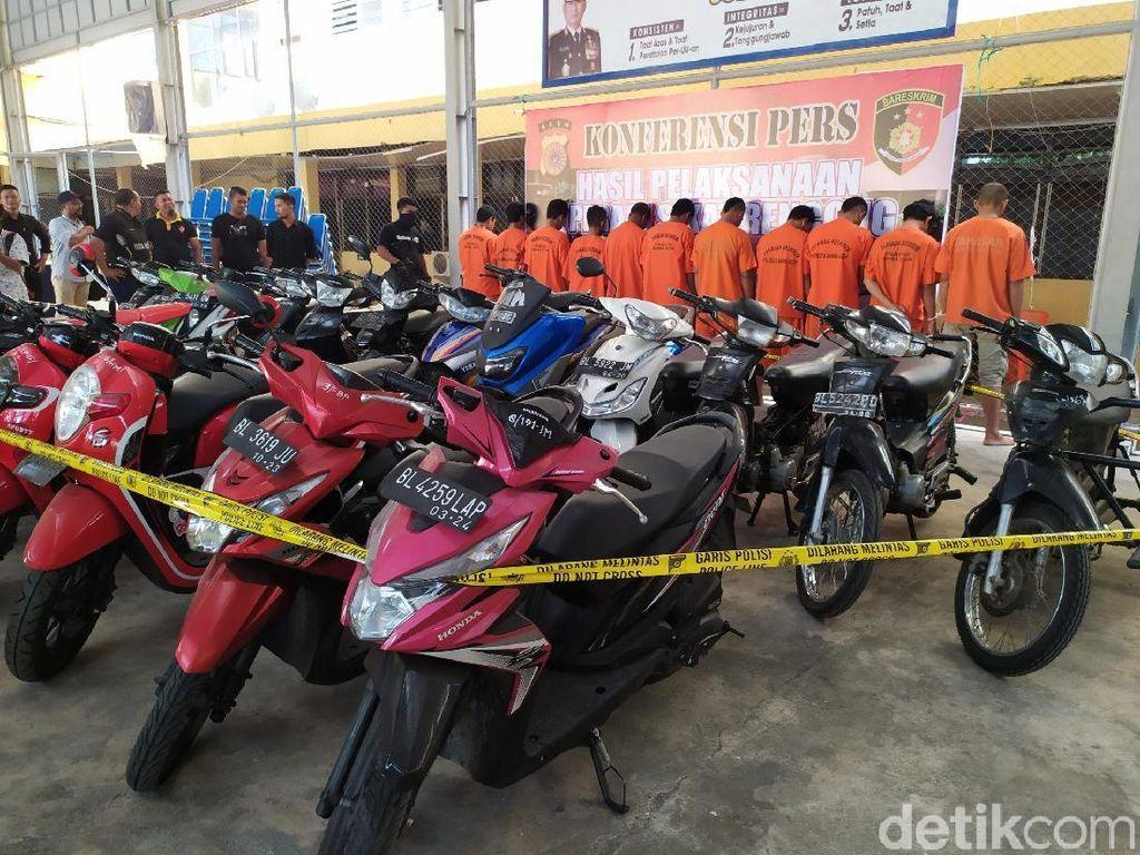 Polisi Ringkus Selusin Pencuri Motor di Banda Aceh