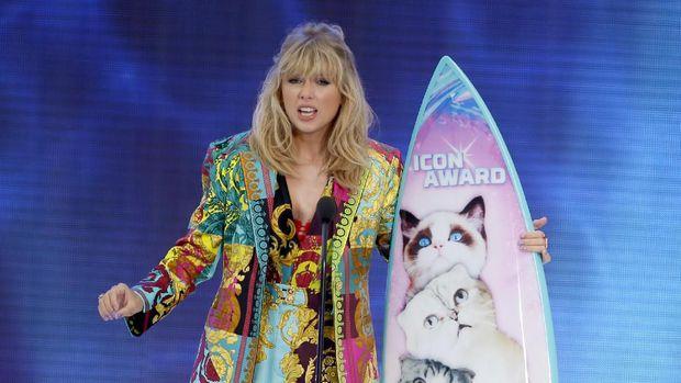 Taylor Swift menangkan penghargaan di AMA 2019