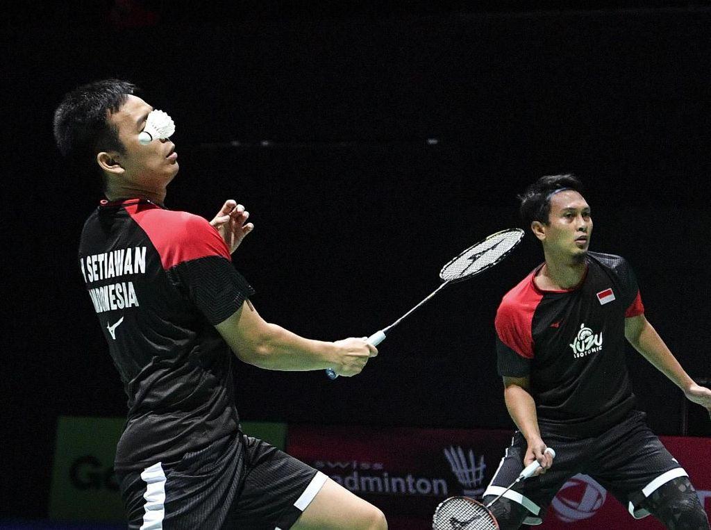Latihan Singkat, Hendra/Ahsan Relaks Menuju Fuzhou China Open