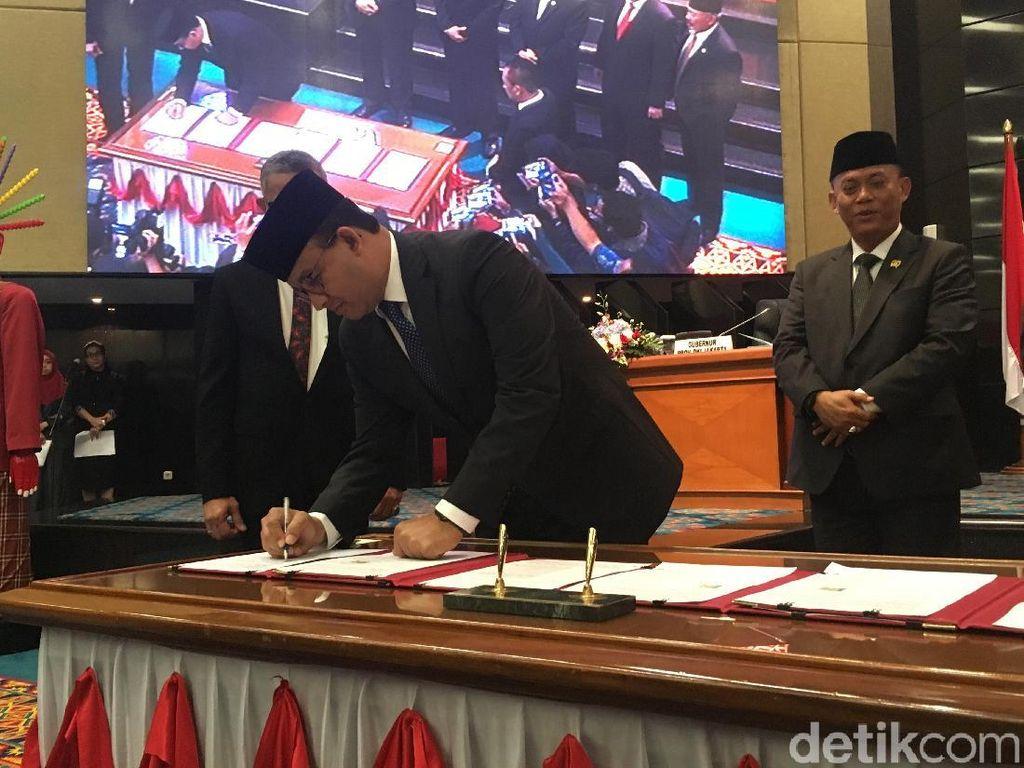 Pemprov DKI Usulkan Anies Juga Terima Tunjangan Wagub