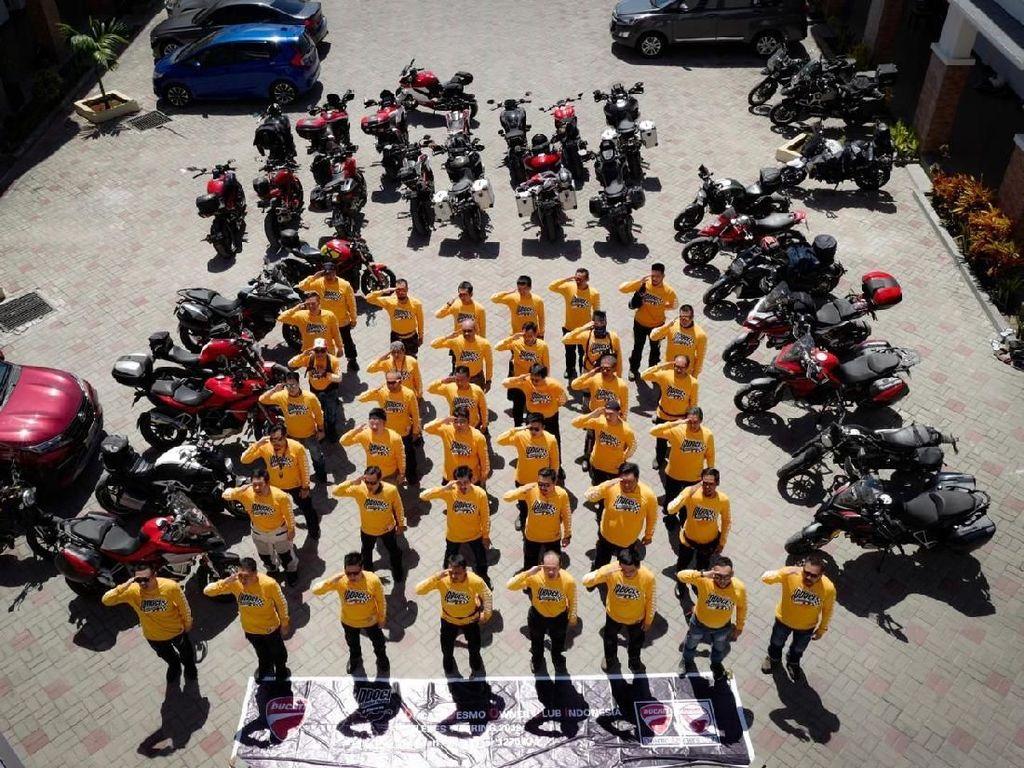 Puluhan Motor Ducati Desmo Ng-gas Jelajahi Pulau Borneo