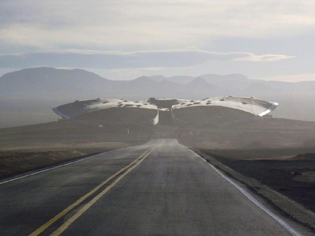 Foto: Bukan Terminal Bus, Ini Terminal Pesawat Luar Angkasa!