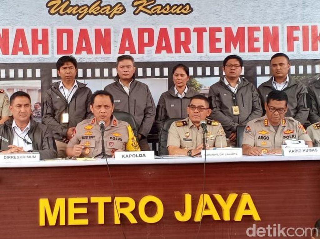 Polisi Tangkap Sindikat Mafia Tanah di DKI, Duplikat Surat lalu Digadai