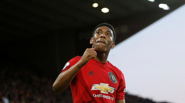 Striker Manchester United Anthony Martial. (Foto: Action Images via Reuters / Carl Recine)