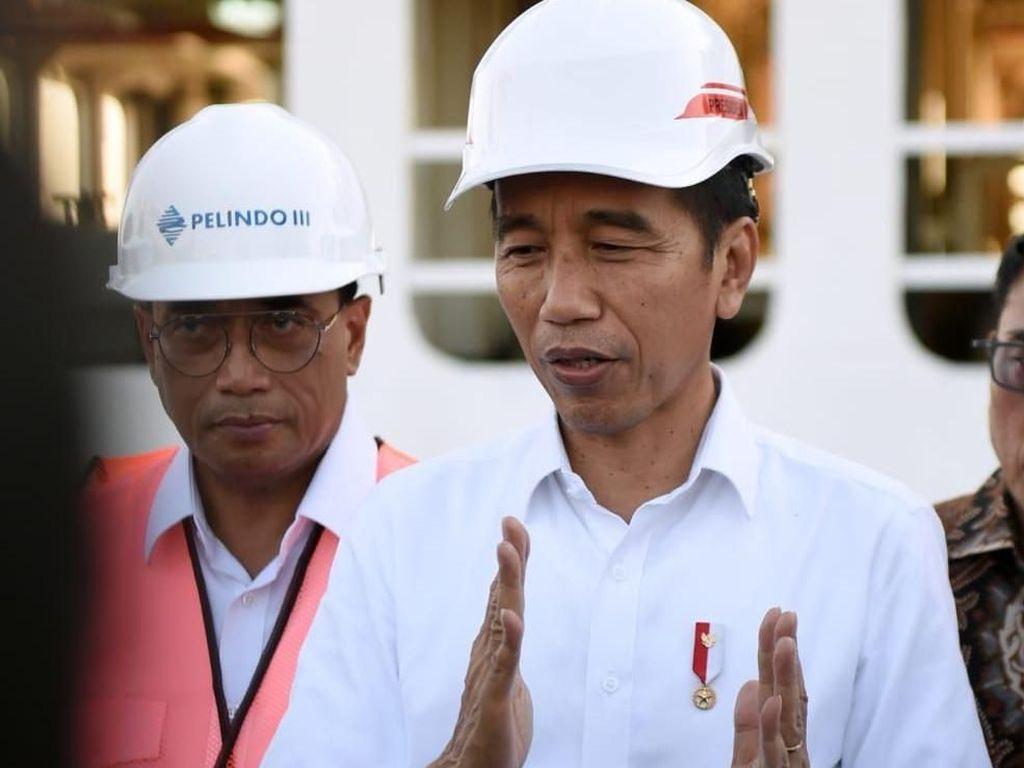 Warga Panik Belanja Imbas Corona, Jokowi Ingatkan Puasa