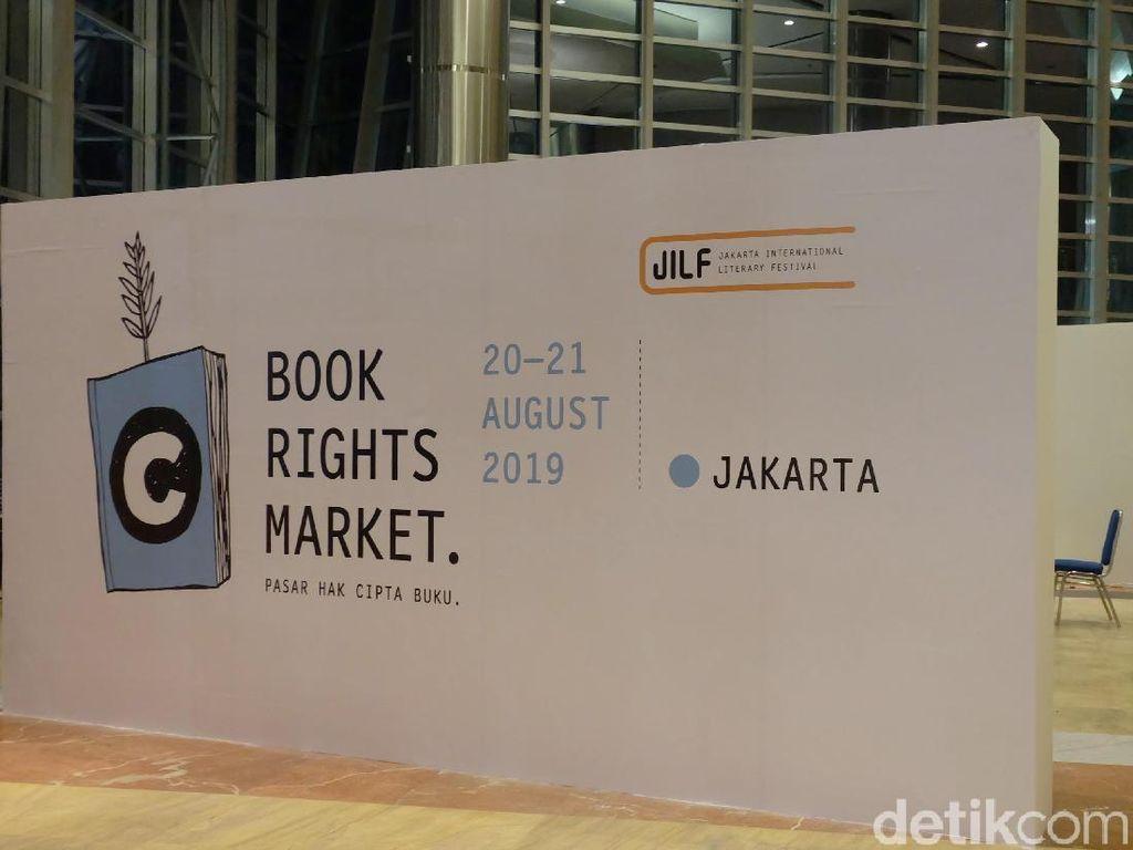 8 Penerbit Inggris hingga China Ikuti Pasar Hak Cipta Buku di JILF 2019