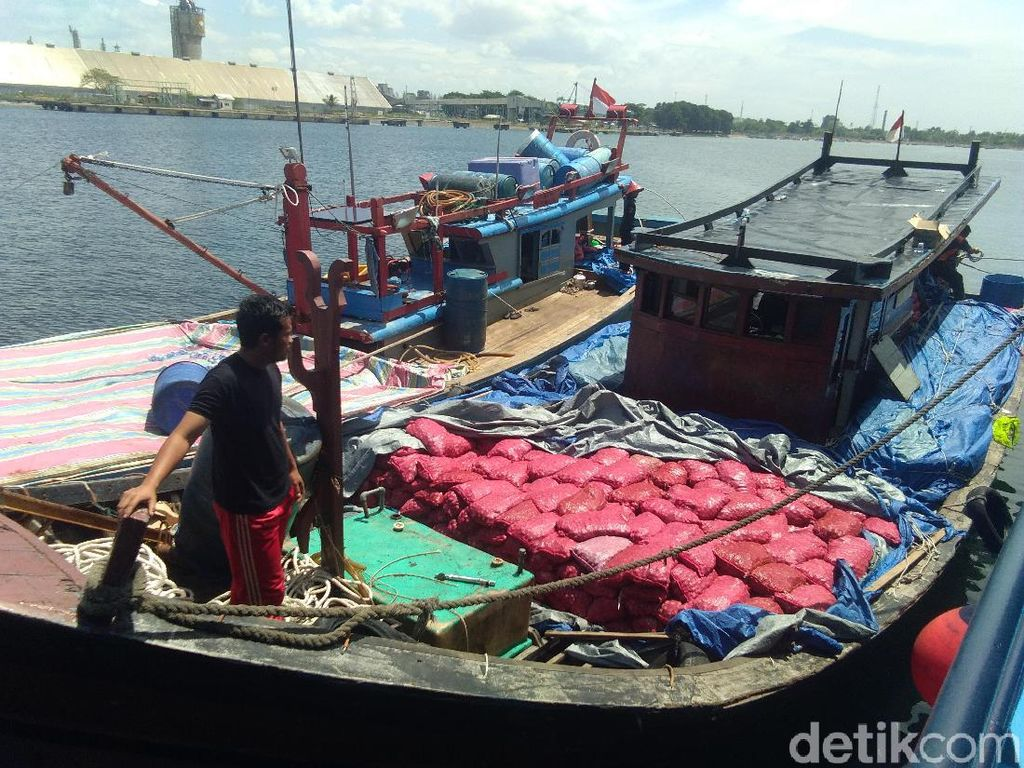 2 Kapal Penyelundup Bawang Ditangkap di Aceh, 8 ABK Diamankan