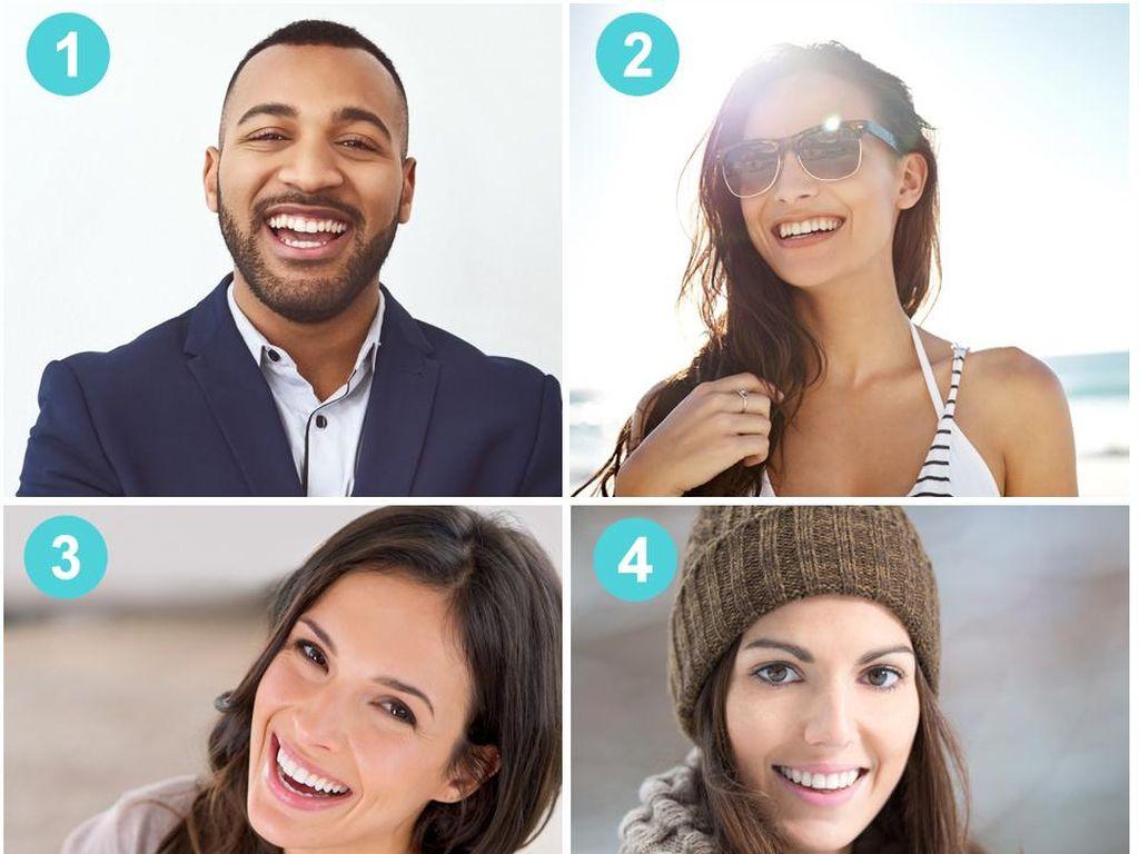Tes Kepribadian: Siapa yang Senyumnya Palsu di Antara 6 Orang Ini?