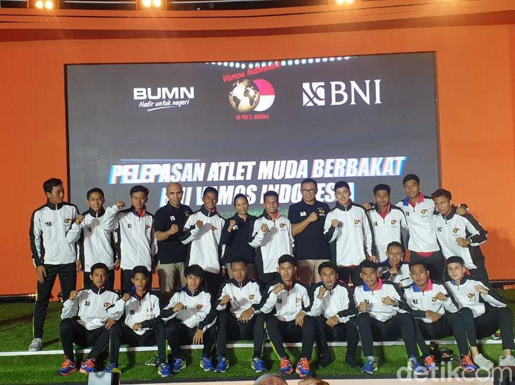 19 Pemain Vamos Indonesia Dilepas ke Spanyol