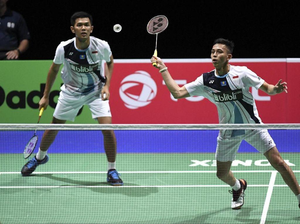 Malaysia Masters: Kalahkan Kevin/Marcus, Fajar/Rian ke Semifinal