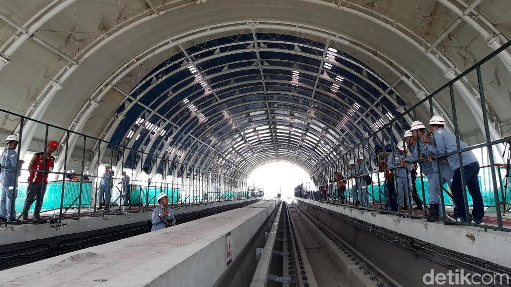 Mau Wira-wiri Akhir Oktober, Ini Penampakan Terkini LRT Jabodebek