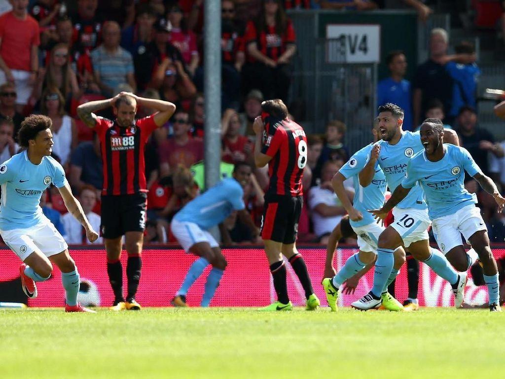 Sterling, Bisa Berapa Gol ke Gawang Bournemouth?