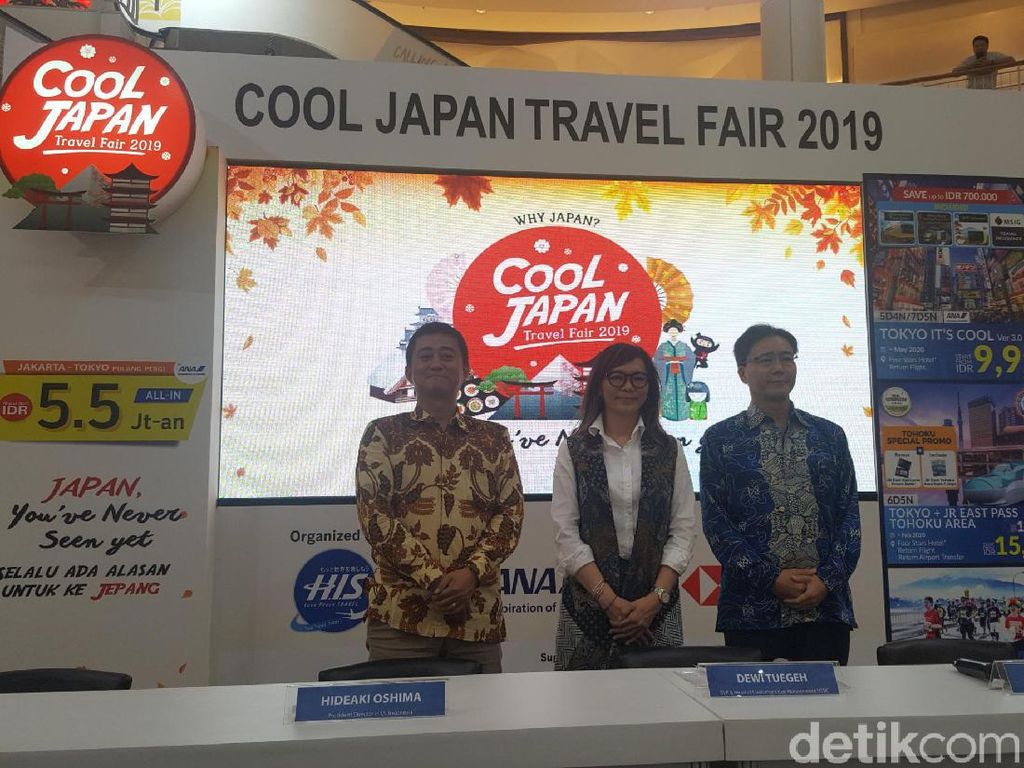 Aneka Promo Menarik di Cool Japan Travel Fair 2019