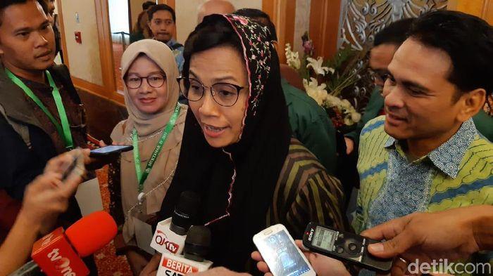 Menteri Keuangan Sri Mulyani Indrawati/Foto: Fadhly Fauzi Rachman