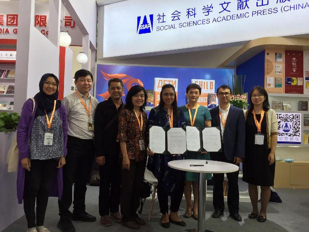 Indonesia Kerja Sama dengan Penerbit China di Ajang BIBF 2019