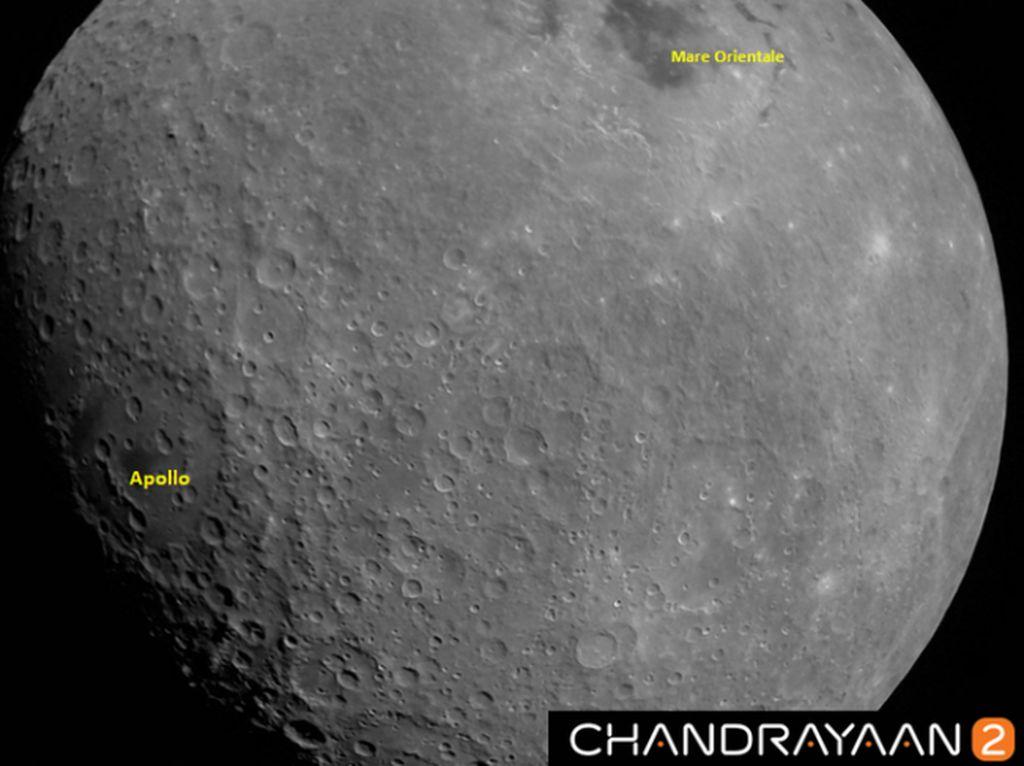 India Temukan Bangkai Vikram di Permukaan Bulan