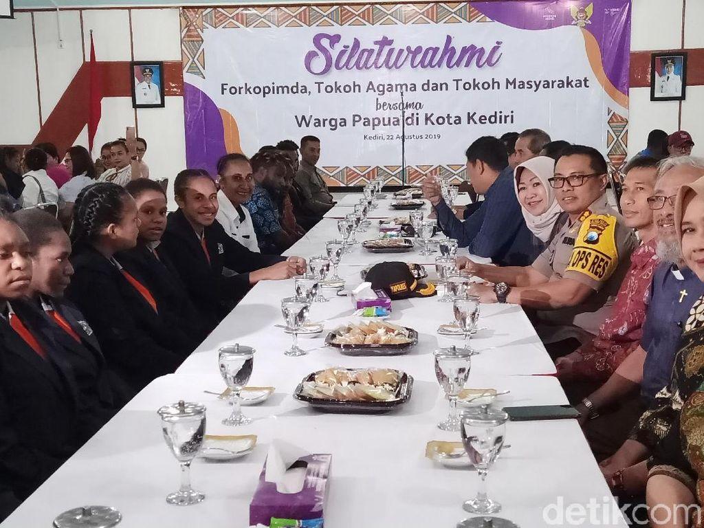 Ini Cara TNI-Polri dan Pemkot Ajak Warga Papua di Kediri Jaga NKRI
