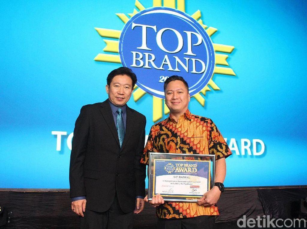 Gajah Tunggal Kembali Raih Penghargaan Top Brand