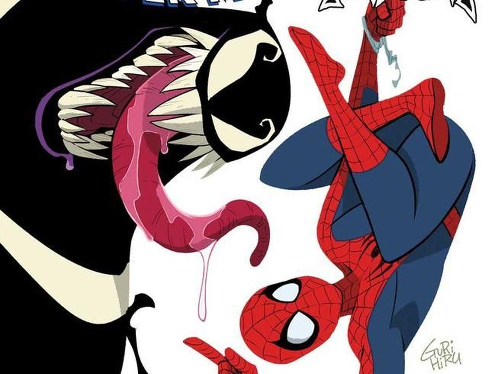 Spider-Man Bertukar Tubuh dengan Venom di Komik Pendek Marvel