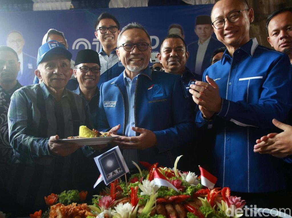 Zulhas Janji Tak Minta Menteri, Amien Rais Tak Khawatir Lagi