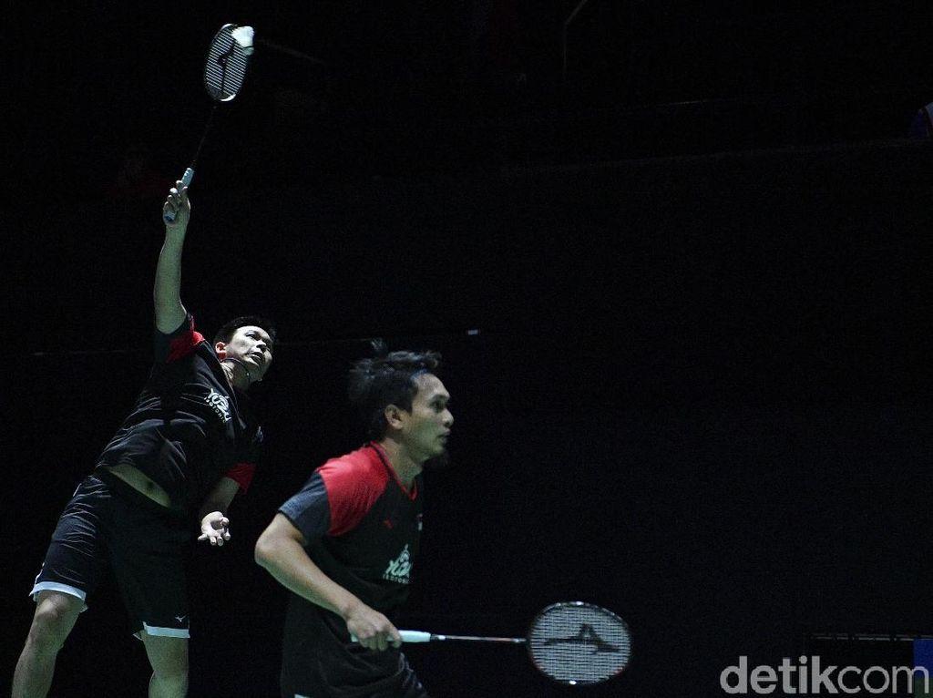 Gaspol! Hendra/Ahsan Melaju ke Perempatfinal