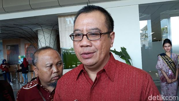 Direktur Utama PT. Angkasa Pura I (AP I) Faik Fahmi (Pradito/detikcom)