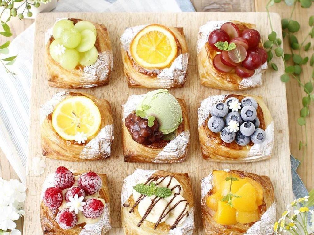 10 Kreasi Puff Pastry Cantik, Cocok Jadi Camilan Teman Minum Teh
