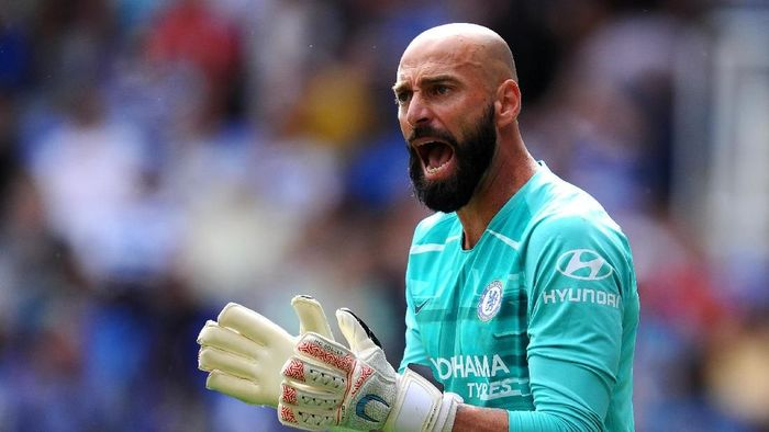 Willy Caballero dikabarkan masuk radar Real Madrid. (Foto: Alex Burstow/Getty Images)