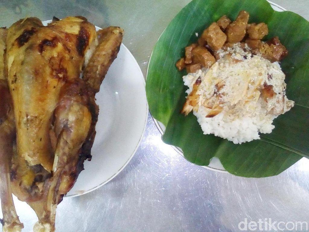 Hidangan Lebaran: Nasi Opor Gosong Khas Kudus