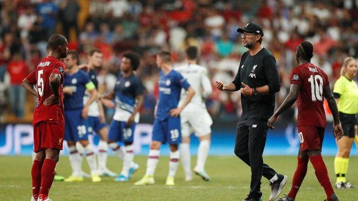 Juergen Klopp puas dengan performa Liverpool sejauh ini (Action Images via Reuters/John Sibley)